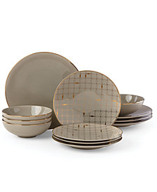Lenox Trianna 12-Pc. Dinnerware Set, Service for 4