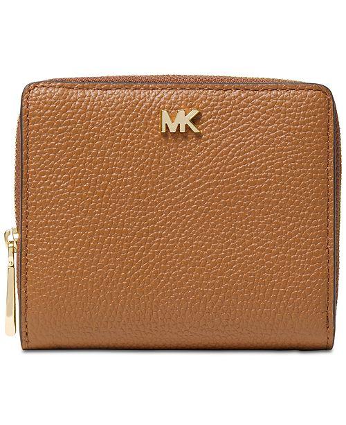 91c725552b7848 Michael Kors Zip Around Snap Wallet & Reviews - Handbags ...