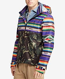 Polo Ralph Lauren Men's Great Outdoors Camouflage Waterproof Jacket