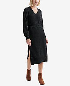 Lucky Brand V-Neck Sweater Dress