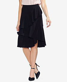 Vince Camuto Tiered Flounce-Skirt