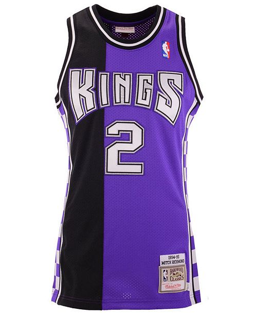 c8a18f4ccc3 Mitchell   Ness Men s Mitch Richmond Sacramento Kings Authentic Jersey ...