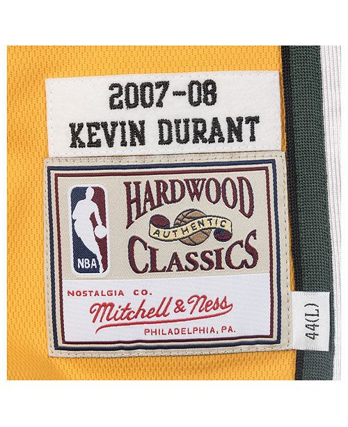 Mitchell   Ness Men s Kevin Durant Seattle SuperSonics Authentic Jersey ... d25f85ebc