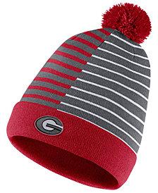 Nike Georgia Bulldogs Striped Beanie Knit Hat