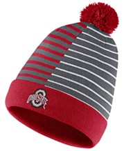 570709b9a Nike Ohio State Buckeyes Striped Beanie Knit Hat