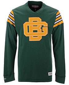 Mitchell & Ness Men's Green Bay Packers Team Captain V-Neck Long Sleeve T-Shirt