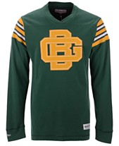 9d04bb2b Mitchell & Ness Men's Green Bay Packers Team Captain V-Neck Long Sleeve T-