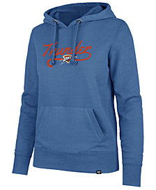'47 Brand Women's Oklahoma City Thunder Clean Sweep Headline Hoodie