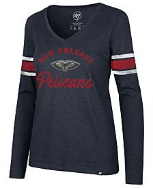 '47 Brand Women's New Orleans Pelicans Spirit Script Long Sleeve T-Shirt