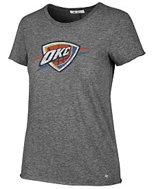 '47 Brand Women's Oklahoma City Thunder Letter T-Shirt