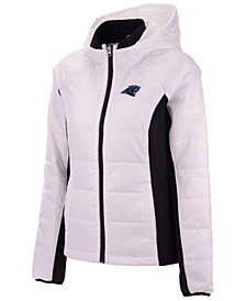 G-III Sports Women's Carolina Panthers Defense Polyfill Jacket