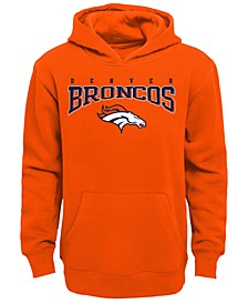 Denver Broncos Fleece Hoodie, Big Boys (8-20)