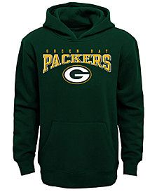 Outerstuff Green Bay Packers Fleece Hoodie, Big Boys (8-20)