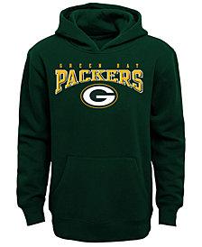 Outerstuff Green Bay Packers Fleece Hoodie, Big Boys (8-20)