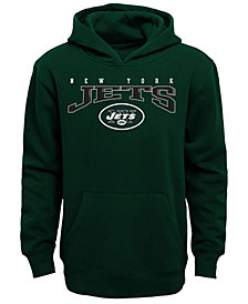 Outerstuff New York Jets Fleece Hoodie, Big Boys (8-20)
