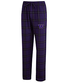 Concepts Sport Men's Washington Huskies Homestretch Flannel Pajama Pants
