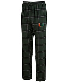 Men's Miami Hurricanes Homestretch Flannel Pajama Pants