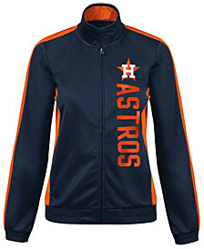 G-III Sports Women's Houston Astros Outfield Track Jacket