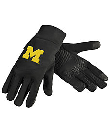 Forever Collectibles Michigan Wolverines Neoprene Texting Gloves