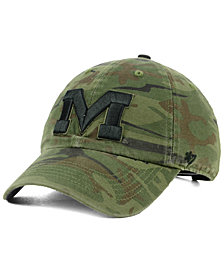 '47 Brand Ole Miss Rebels Regiment CLEAN UP Strapback Cap