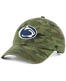 '47 Brand Penn State Nittany Lions Regiment CLEAN UP Strapback Cap