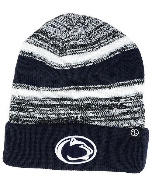 69312d724fe Zephyr Penn State Nittany Lions Slush Cuff Knit Hat - Sports Fan ...