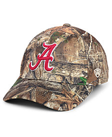 Top of the World Alabama Crimson Tide Berma Camo Flex Fitted Cap