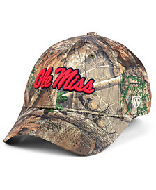 Top of the World Ole Miss Rebels Berma Camo Flex Fitted Cap