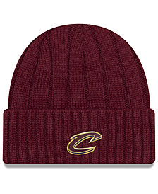 New Era Cleveland Cavaliers Metal Cuffed Knit Hat