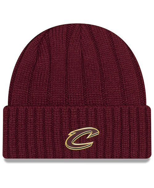 c840e21cd97b24 New Era Cleveland Cavaliers Metal Cuffed Knit Hat & Reviews - Sports ...