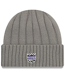 New Era Sacramento Kings Metal Cuffed Knit Hat
