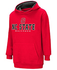 North Carolina State Wolfpack Pullover Hooded Sweatshirt, Big Boys (8-20)
