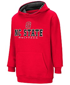 Colosseum North Carolina State Wolfpack Pullover Hooded Sweatshirt, Big Boys (8-20)