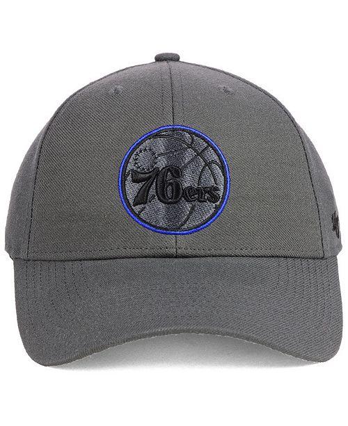 bf35c0f187e64  47 Brand Philadelphia 76ers Charcoal Pop MVP Cap - Sports Fan Shop By Lids  - Men - Macy s
