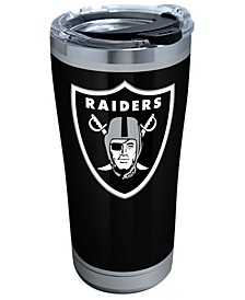 Oakland Raiders 20oz Rush Stainless Steel Tumbler