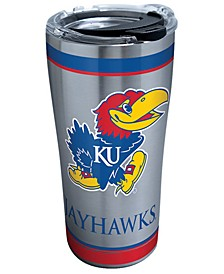 Kansas Jayhawks 20oz Tradition Stainless Steel Tumbler