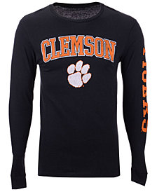 Colosseum Men's Clemson Tigers Midsize Slogan Long Sleeve T-Shirt