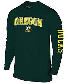 Colosseum Men's Oregon Ducks Midsize Slogan Long Sleeve T-Shirt