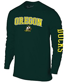 Colosseum Men's Oregon Ducks Midsize Slogan Long Sleeve T-Shirt