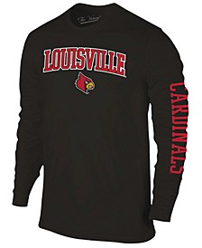 Men's Louisville Cardinals Midsize Slogan Long Sleeve T-Shirt