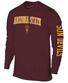 Colosseum Men's Arizona State Sun Devils Midsize Slogan Long Sleeve T-Shirt