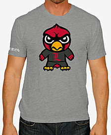 Retro Brand Men's Louisville Cardinals Tokyodachi T-Shirt