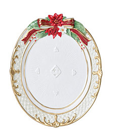 Fitz and Floyd Holiday Plate