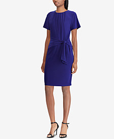 Lauren Ralph Lauren Petite Self-Tie Dress