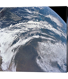 View of Earth As Photographed From The Apollo 12 Spacecraft by Stocktrek Images Canvas Art