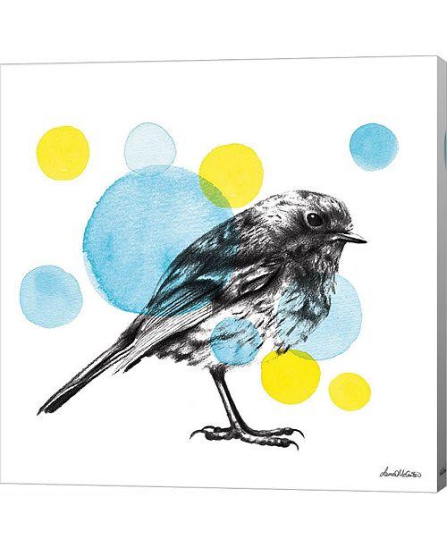 Metaverse Sketchbook Lodge Bird by Lamai Mccartan Canvas Art