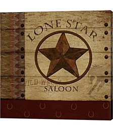 Lone Star Saloon by Beth Albert Canvas Art