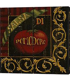 Tomato by Susan Clickner Canvas Art