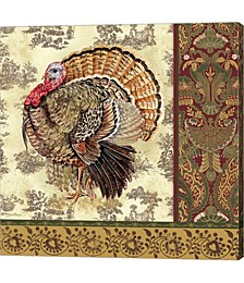 Tom Turkey I by Jean Plout Canvas Art