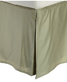 Superior 300 Thread Count Egyptian Cotton Solid Bed Skirt - King